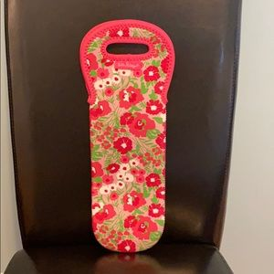 Lilly Pulitzer wine cooler bag